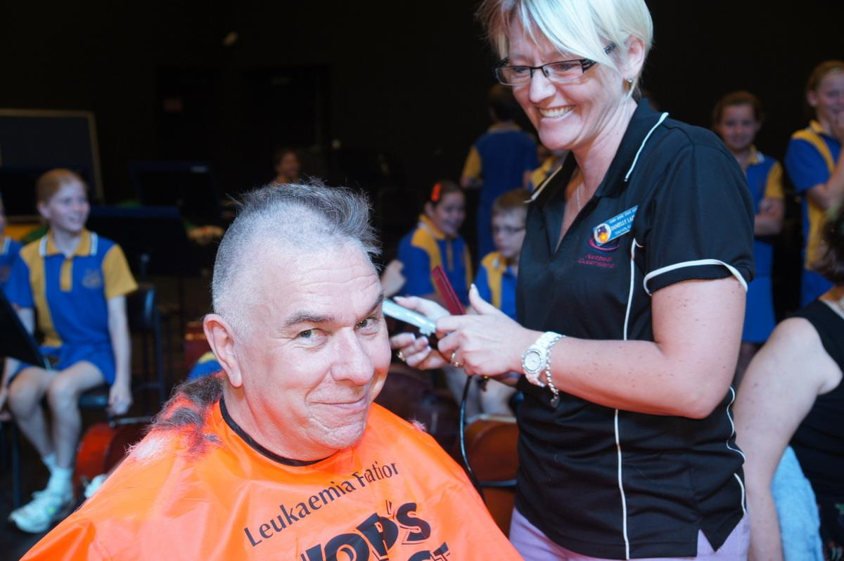 Leukaemia Foundation's Shave for a Cure
